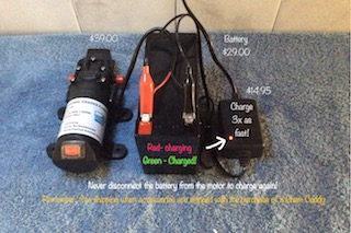 image of 12v battery charger